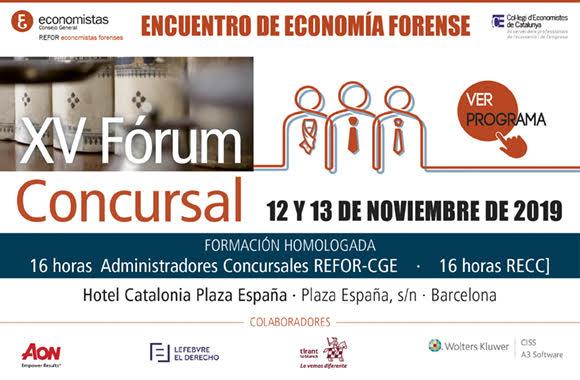 Encuentro de Economía Forense XV FÓRUM CONCURSAL
